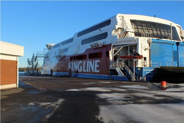 vintervila västerviks hamn